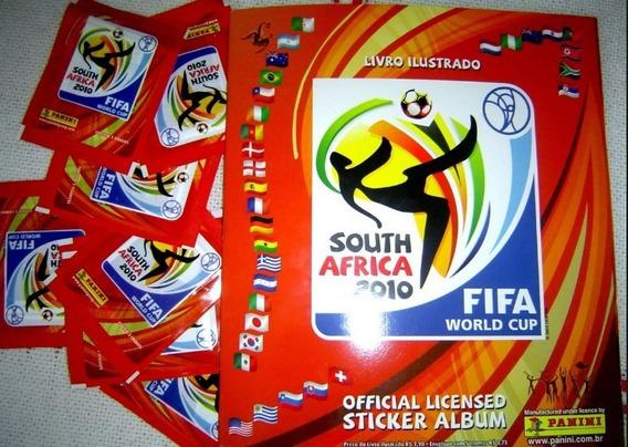 24 Figurinhas Da Copa Do Mundo 2010 Prateadas Não Repetidas.