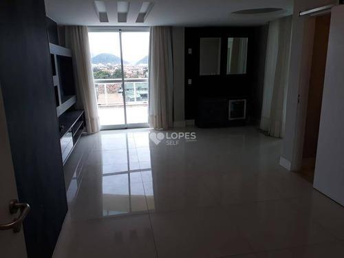 Cobertura Com 2 Dormitórios À Venda, 130 M² Por R$ 1.100.000,00 - Piratininga - Niterói/rj - Co2783