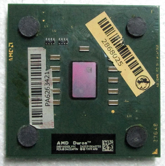 Processador Amd Socket 462 Duron 1600 Mhz ( 1.6ghz )