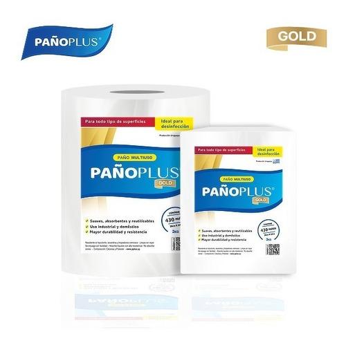 Imagen 1 de 3 de Pañoplus Gold - Rollo Blanco 3kg - 26cm X 34cm