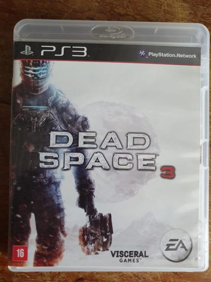Jogo Dead Space 3 - Ps3 - Usado