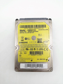 Hd Notebook 320gb Sata Samsung Hm321hi-srh 5400rpm