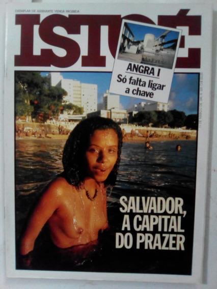 Revista Istoé 220 Salvador Bahia Angra Nuclear Carnaval 1981