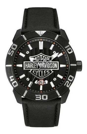 Relógio Bulova Harley Davidson Wh30537p