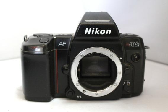 Câmera Fotografica Nikon N8008s Colecionadores Retirada Peça