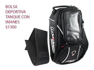 Bolsa Deportiva Para Tanque Con Imanes, Marca Iron Racing