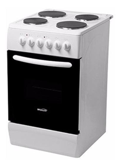 Cocina Electrica Brogas 4 Hornallas 50cm Horno Electrico Luz
