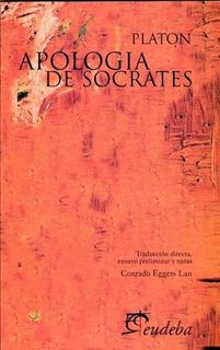 Apologia De Socrates - Platon - Eudeba - Libro Nuevo