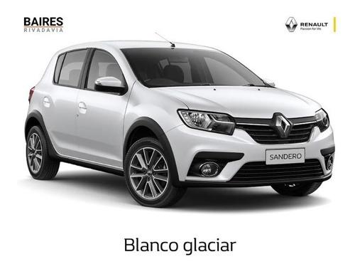 Renault Sandero 0k 2021 Anticipo Cuotas Financiado