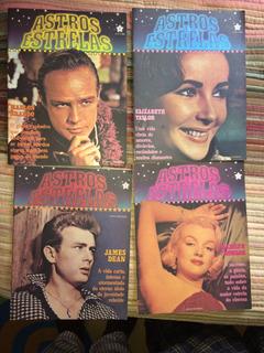 Lote Revistas Astros E Estrelas Nºs 1, 2, 3 E 4 Abril Cultur