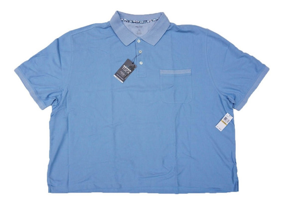 Fina Polo Van Heusen 4xl Corta Natural Stretch Big Men