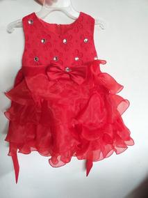 Vestido Infantil Daminha Babado Casamento Renda Princesa