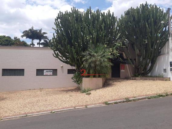 Casa Comercial Para Locação, Nova Campinas. - Ca0462