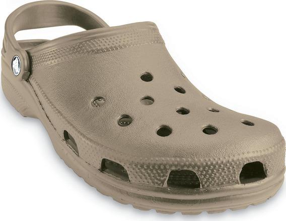 Sandalia Crocband Crocs Classic Khaki Original