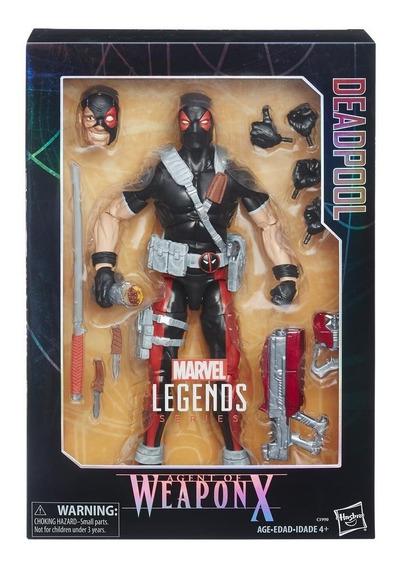 Figura Deadpool 12 Pulgadas Agent Of Weapox Marvel
