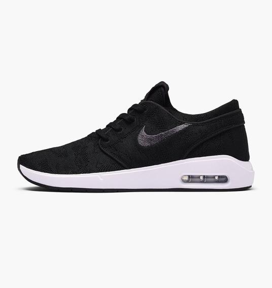 Zapatillas Nike Sb Air Max Janoski 2 Blancas Negras