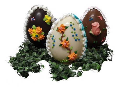 Huevo De Pascua Chocolate - N15 De 320 Grs - Blanco