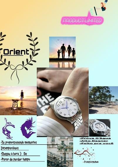 Relógio Orient Priorize Seu Tempo/com Momentos Incomparáveis