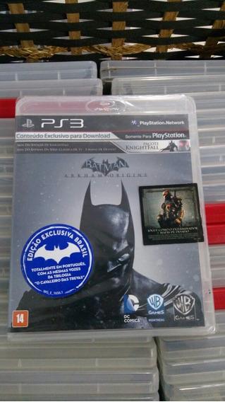Batman Arkham Origins Ps3 Lacrado Midia Fisica Promoção