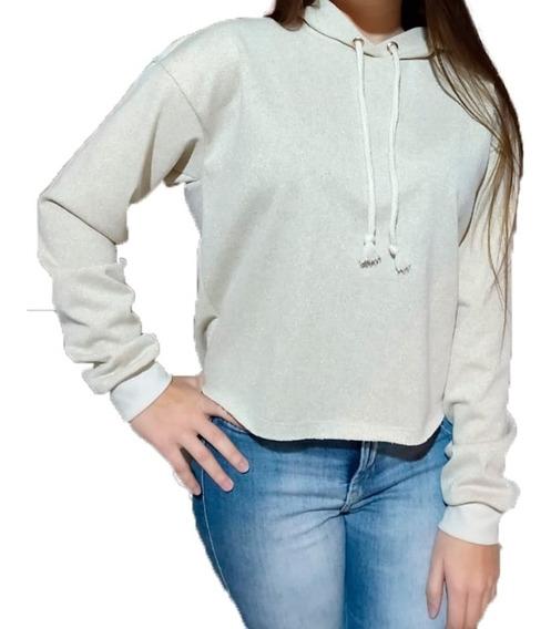 Cropped Moletom Careca Inverno Feminino Blusa Frio Casaco