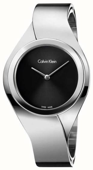 Sofisticado Reloj Para Mujer Calvin Klein Sense K5n2s121