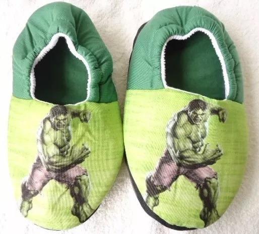 Pantufa Homem De Ferro Hulk Batman Herois * Sob Encomenda