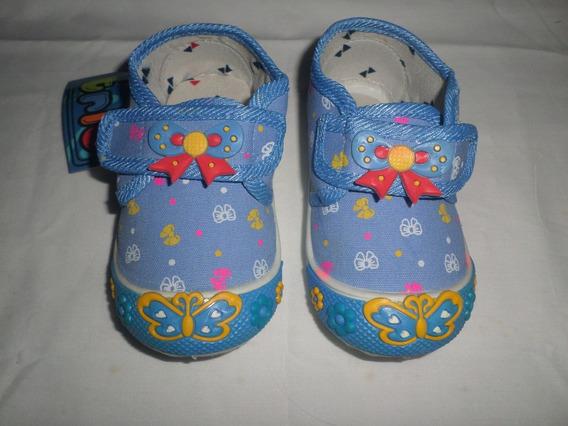 Zapatos Deportivos Para Niña Marca Trio Talla 22
