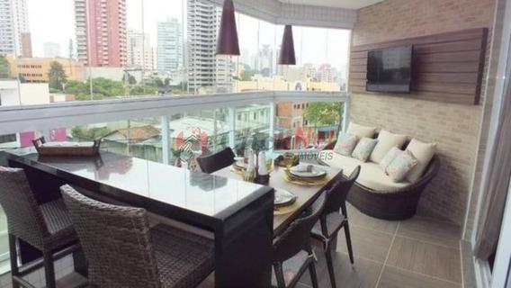 Lindo Apartamento Mobiliado À Venda No Bairro Nova Petrópolis Em São Bernardo - 5576