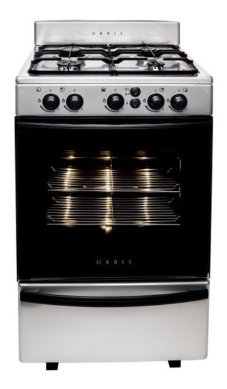 Cocina Orbis Acero 55cm Ancho Enc Elect. Luz 858ac3 Oferta