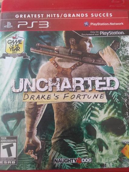 Uncharted Ps3 Original, Midia Fisica , A Pronta Entrega