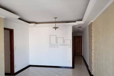 Apartamento Com 3 Dormitórios Para Alugar, 115 M² Por R$ 1.100/mês - Centro - Sorocaba/sp - Ap1536