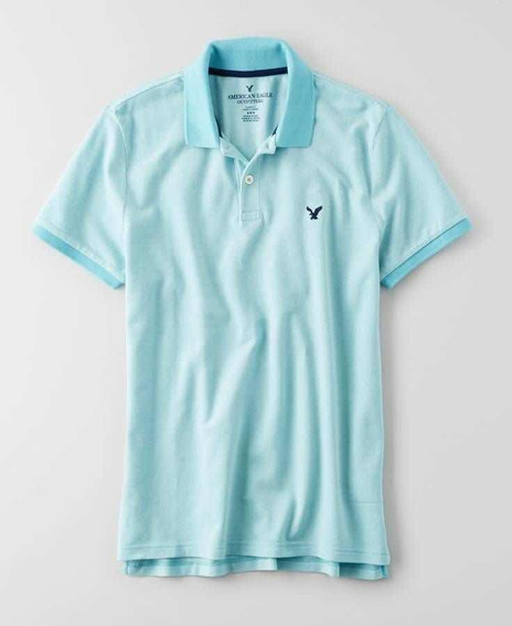 Playera Polo Hombre American Eagle Extragrande Original 100%