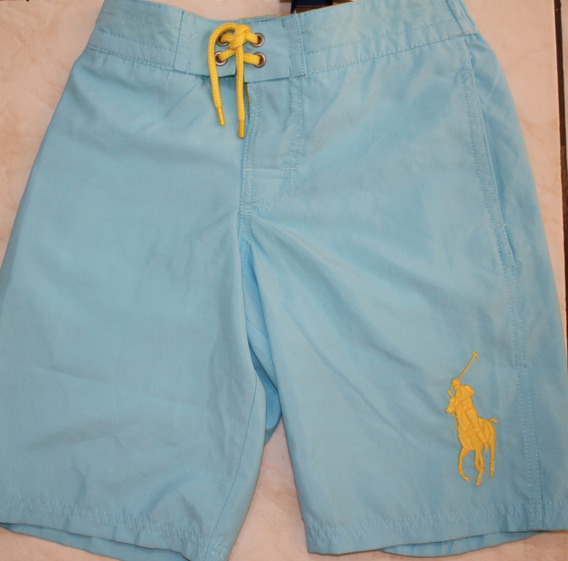 Bermuda Masculina Infantil Polo Ralph Lauren Tamanho 8