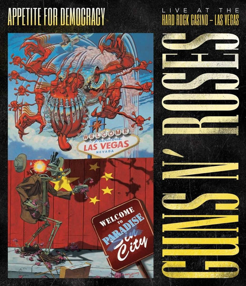 Guns And Roses Appetite For Democracy (2 Cds + 1 Dvd)