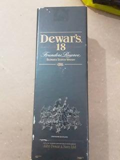 Botella De Whisky 18 Años Dewars