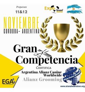 Entrada Competencia Expogroom Argentina 11 Y 12 Nov 2017