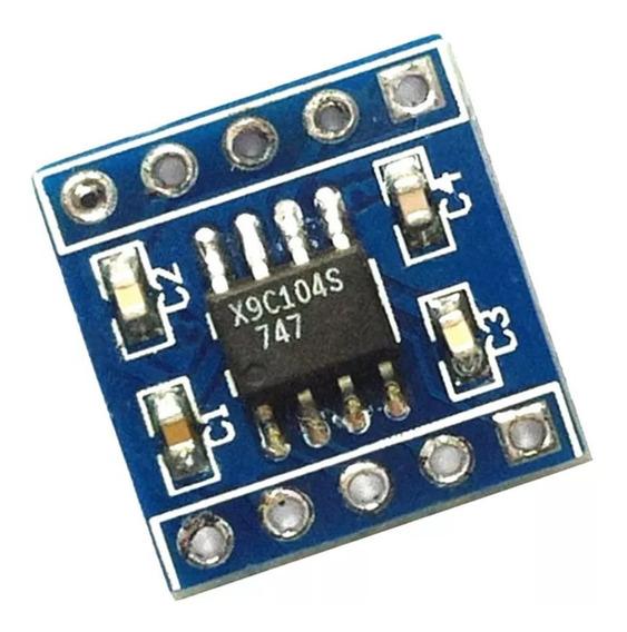 5x Módulo Potenciômetro Digital X9c104