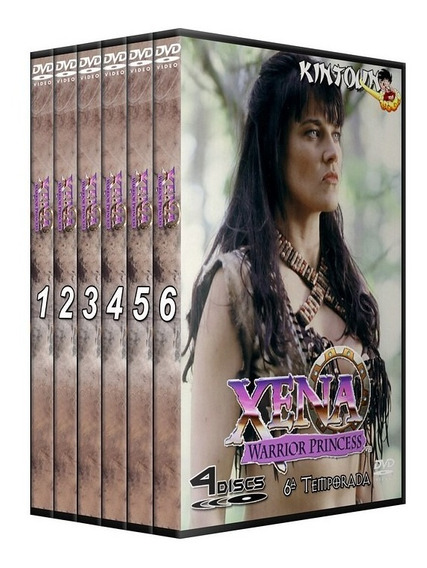 Dvds Xena A Princesa Guerreira Série Completa Dublada