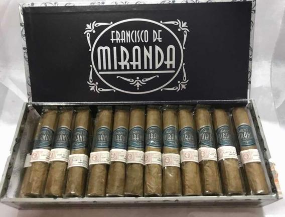 Cigarros Francisco De Miranda Petit Robusto X 25 Dominicanos