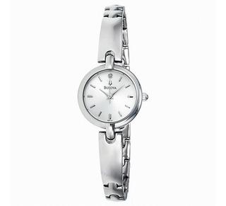 Reloj Bulova Diamond 96p131 Mujer | Original Agente Oficial