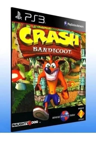Crash Bandicoot 1 Ps3 Jogo Psn Envio Rápido