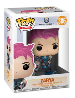 Funko Pop Overwatch 306 Zarya Magic4ever