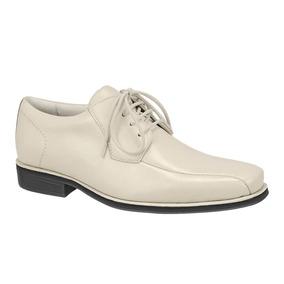 Sapato Social Masculino Derby Sandro Moscoloni Tyler Branco