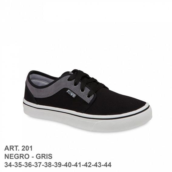 Zapatilla Rave Negro/gris