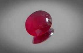 Rubi Natural Sangue De Pombo 11x9mm