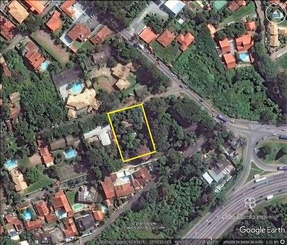 Terreno Para Venda, 2350 M² Por R$ 2.350.000 - Granja Viana - Cotia/sp - Te0248
