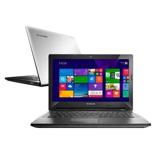 Notebook Lenovo G40-80, I3- 2 Ghz, 4gb, 1tb, 14 Prata