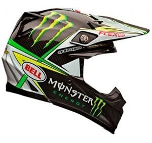 Capacete Bell Moto 9 Carbon Flex Monster