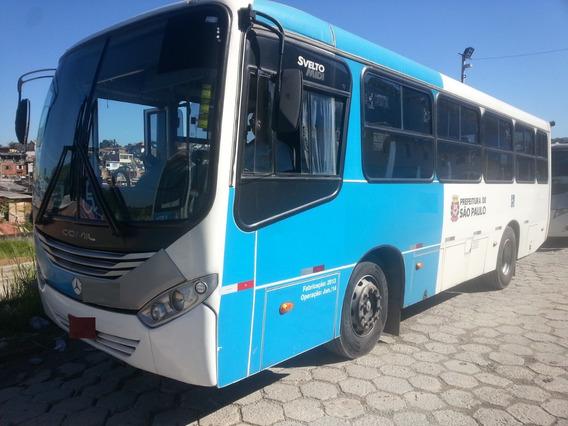 Onibus Micrao Mercedes-benz Of1519 Comil Svelto 2013/2014 27