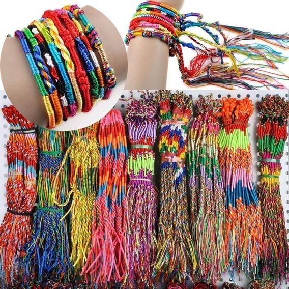 Pulseras Multicolor, Bohemias, Paquete De 20 Piezas